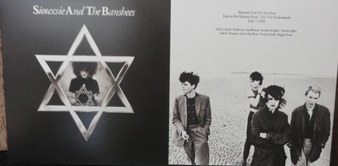 Siouxsie And The Banshees - Live in Holland 1981 (cd)