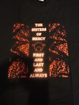 SISTERS OF MERCY - FIRST, LAST AND ALWAYS (CAMISETA)