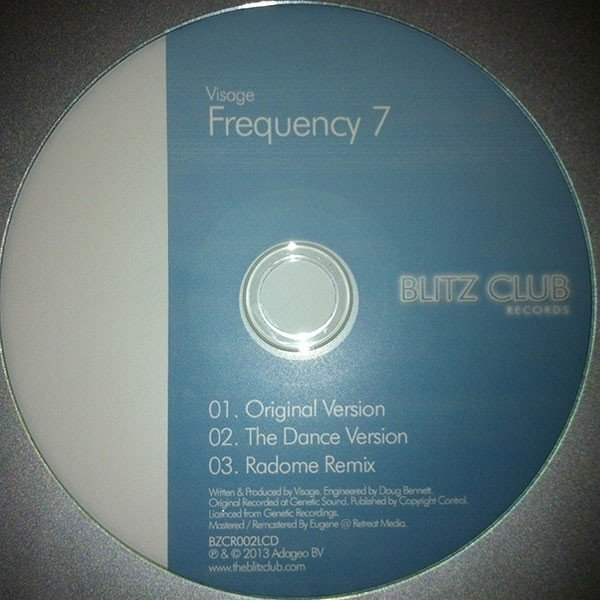 Visage - Frequency 7 (Cd Single)