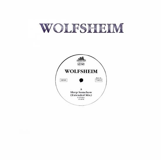 WOLFSHEIM - SLEEP SOMEHOW (VINIL)