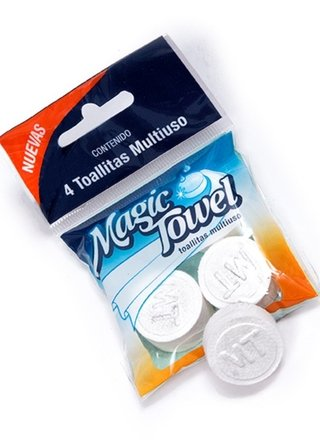 Pack x 20 Magic Towell en pastillas - 07603