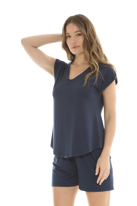 Pijama Denise Azul - Art 82119/20