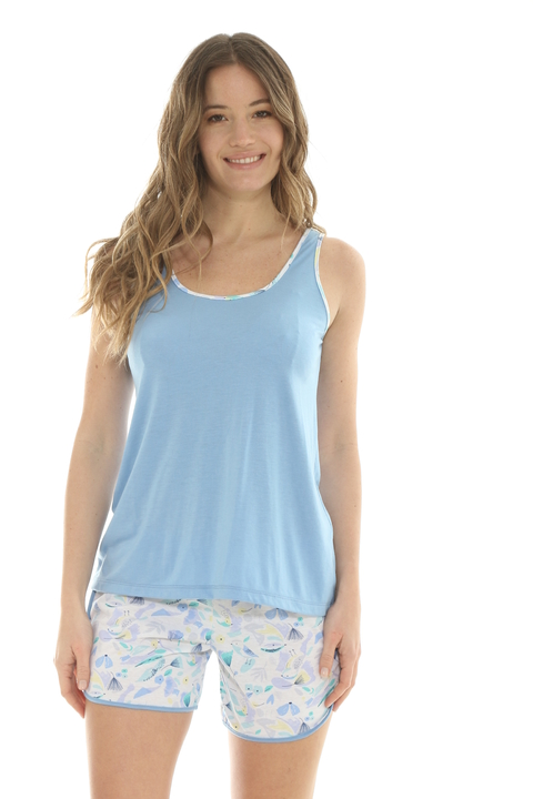Pijama Birds Short - 82607 en internet