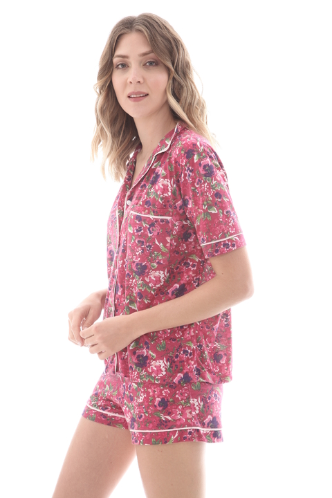 Camisero Flowers 2 - 82731 en internet