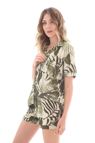 Pijama Camisero Jungle - 82781