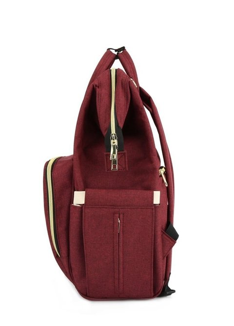 Mochila Maternal Bordo en internet