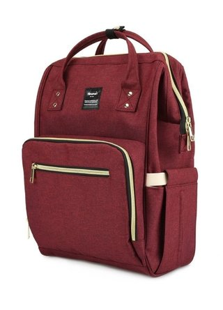 Mochila Maternal Bordo