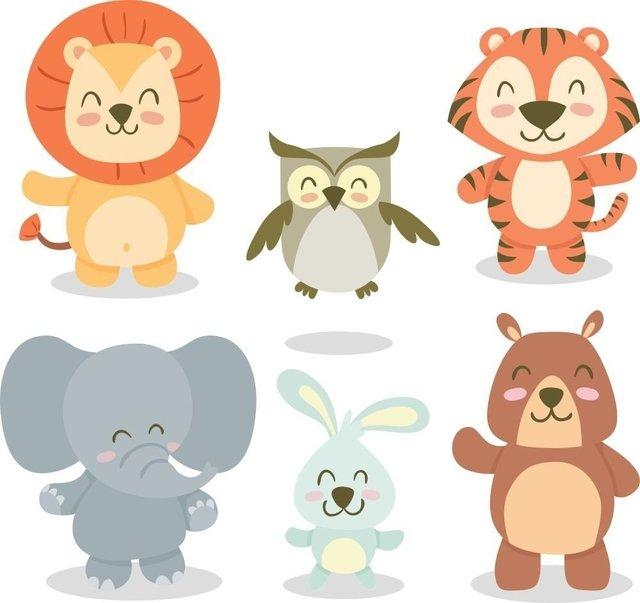 Vinilos decorativos infantiles de animales de la selva for Vinilos infantiles animales