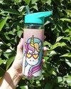 Botellas deportivas 600 ml con Pico Desplegable. GLITTER
