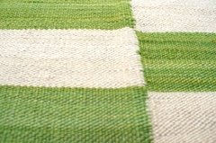Kilim Green and White 0015 - comprar online