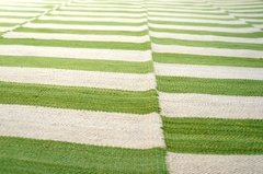 Kilim Green and White 0015 en internet