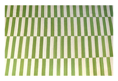 Kilim Green and White 0015