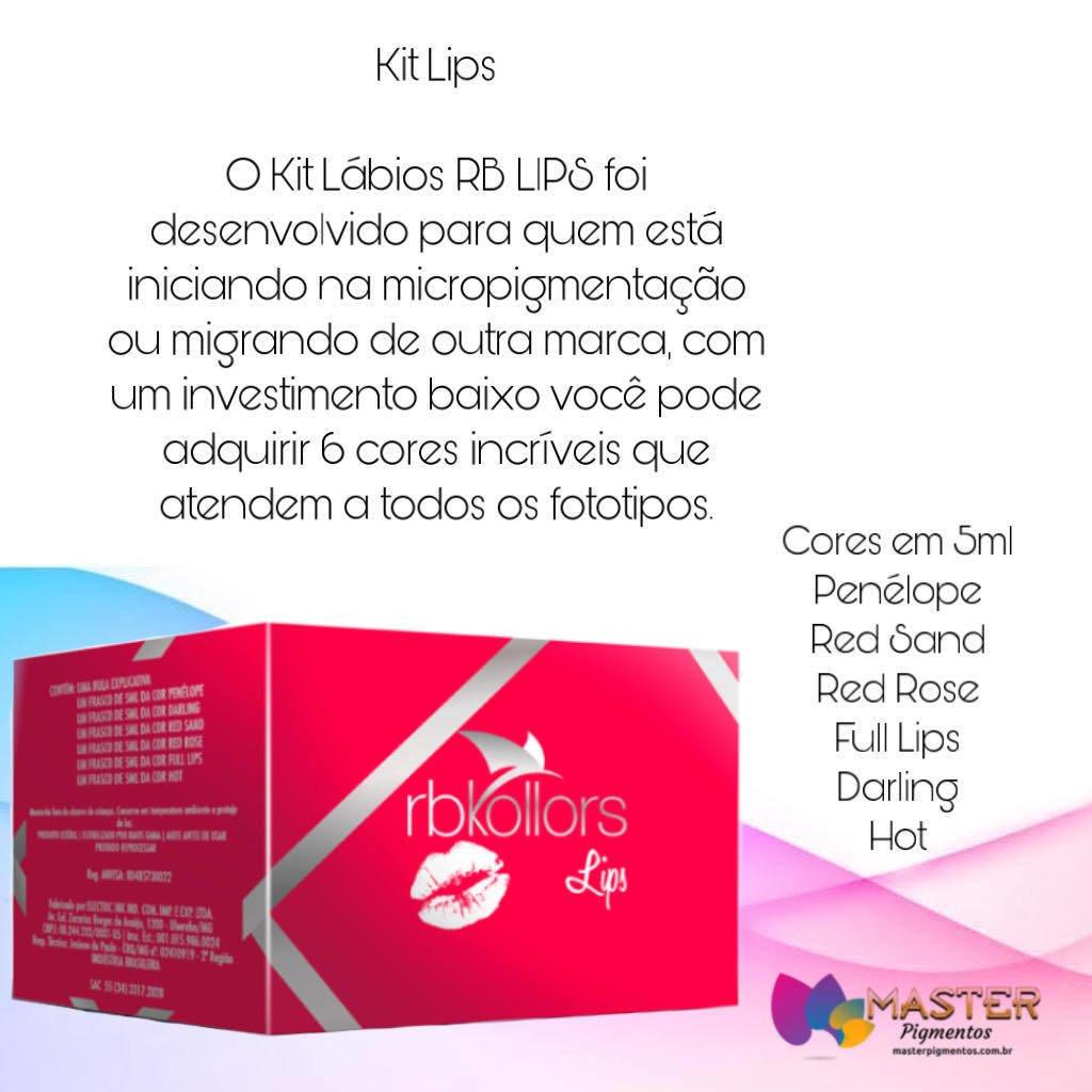 KIT LÁBIOS RB KOLLORS | Loja Elari Esteica