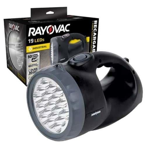Linterna Rayovac 19 LED recargable
