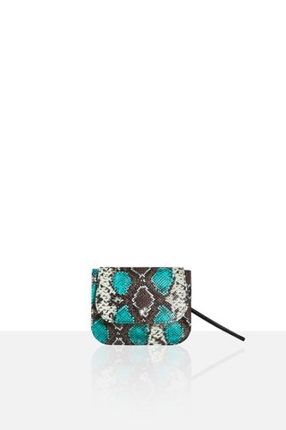 IT BAG PYTHON AQUA - comprar online