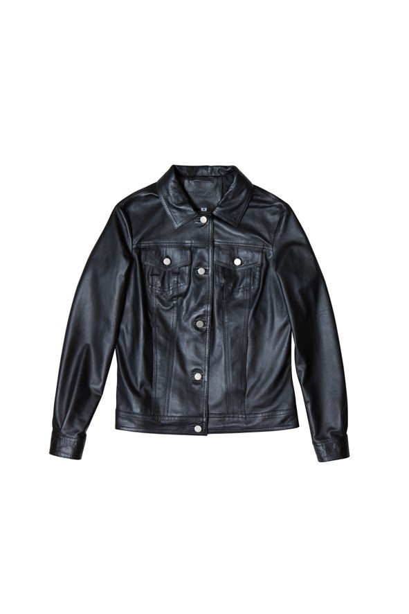 Leather Jacket Black