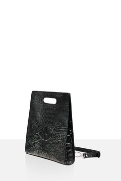 Mini Cemento black croc  en internet
