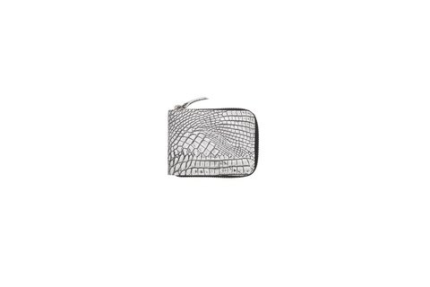 Billetera Unisex Gris Crocco.