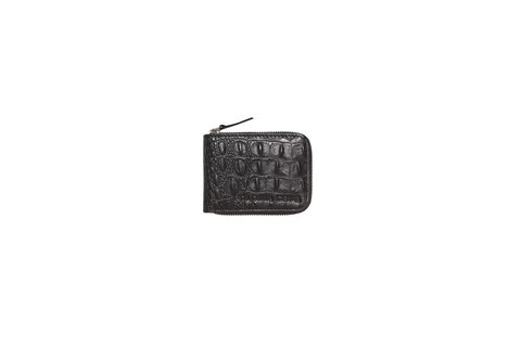 Billetera Unisex Negro Crocco