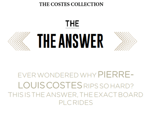 Tabla Bodyboard Pryde-THE ANSWER PP ISS SERIES-Costes Collection en internet