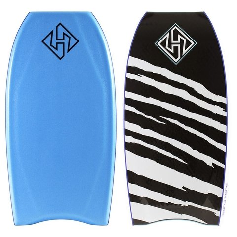 TABLA BODYBOARD HUBBOARDS QUAD SCORE CRESCENT TAIL 41.5