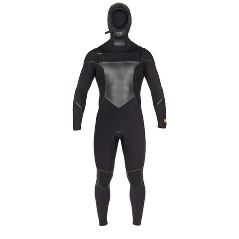 AGENT 18 WATERMAN + HOOD CZ FULLSUIT BLACK