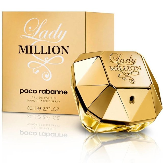 Perfume Lady Million Paco Rabanne Eau de Parfum 80 ml