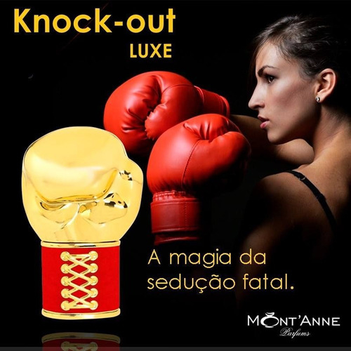 Knock Out Luxe Mont'anne Eau de Parfum 100 ml - comprar online