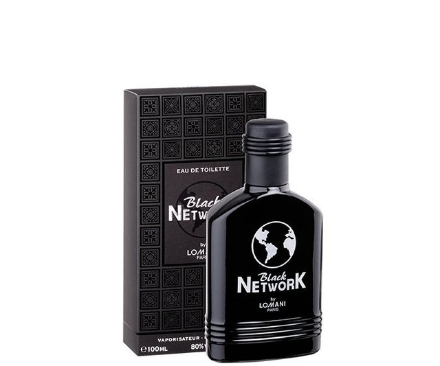 Perfume Lomani Paris Black Network Eau de Toilette 100 ml