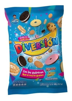 Galletitas Surtido Diversion X 400 Gr X 5 U - Lollipop