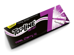 Chicles Topline Seven Violet Cherry Caja X 16 U - Lollipop