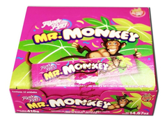 Caramelos Mr Monkey X 32 U - Similar Lenguetazo - Lollipop