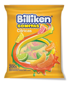 Gomitas Billiken Citricas X 800 Gr. - Lollipop