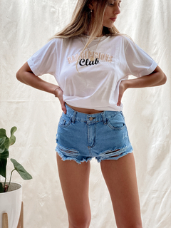 SHORT JEAN DEFLECADO en internet