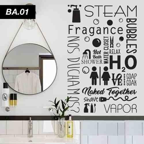 cocinas y baños únicos Vinilos Decorativos Laundry Lavadero Bao Unicos