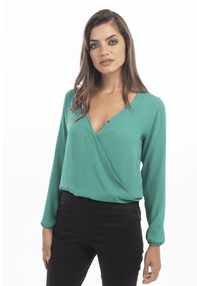 Blusa Perry verde
