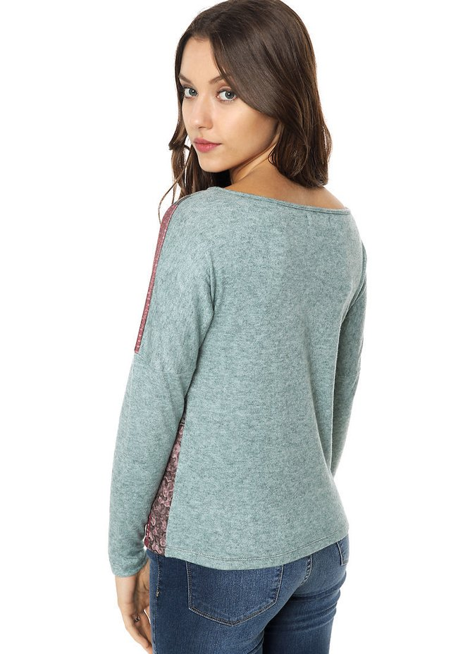 Sweater Belina verde en internet