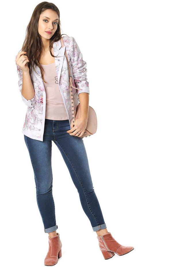 new style e9583 dc722 Blazer Rosa Italina