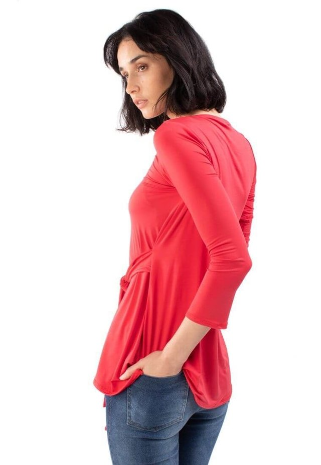 Blusa Lamington Rojo en internet