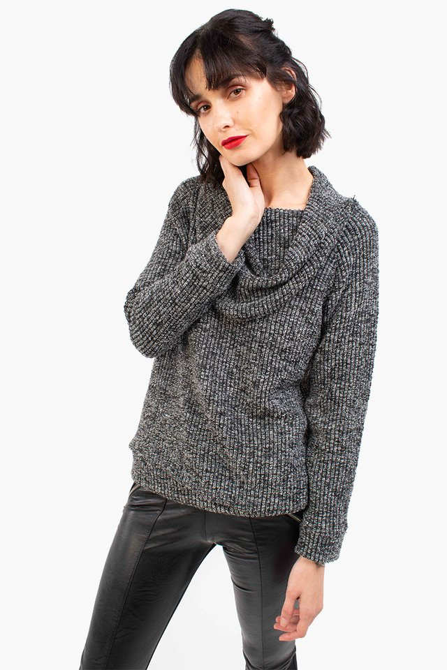 Sweater Banoffee gris topo - comprar online