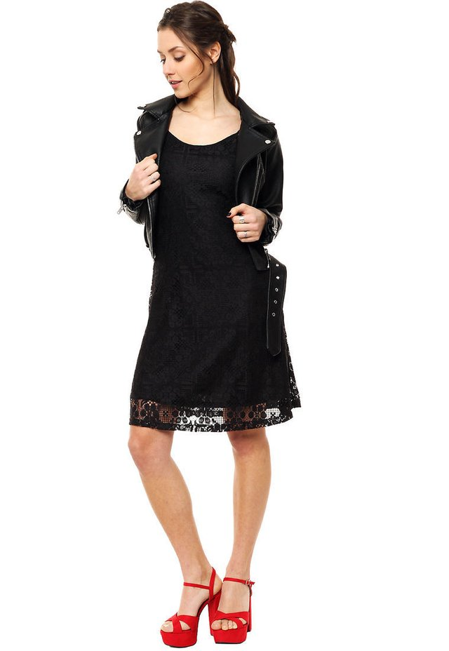 6e9fdbe64 Vestido negro Emma - Comprar en Mia Loreto
