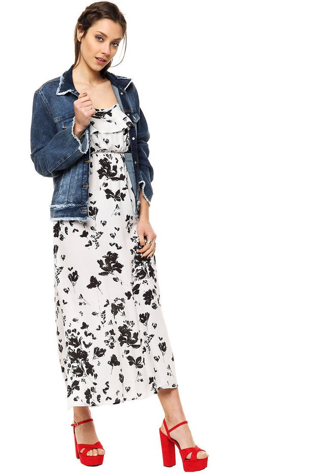 d12a3494d ... comprar online  Vestido Blanco Negro Carmela en internet  Vestido Blanco  Negro Carmela - Mia Loreto