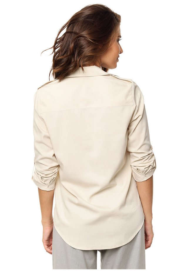 Camisa beige Sally en internet