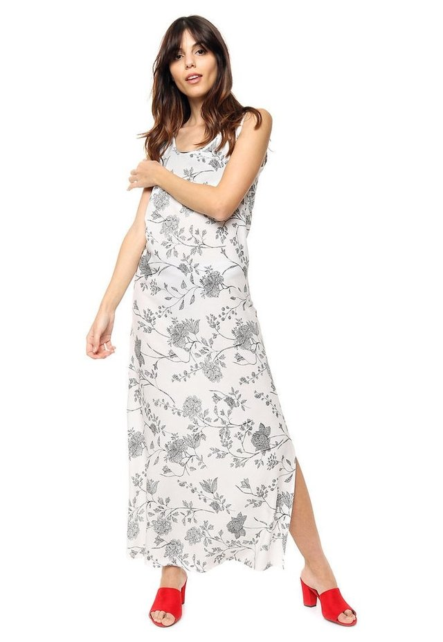 be9bc3ab52 Vestido blanco  negro Amy - Comprar en Mia Loreto