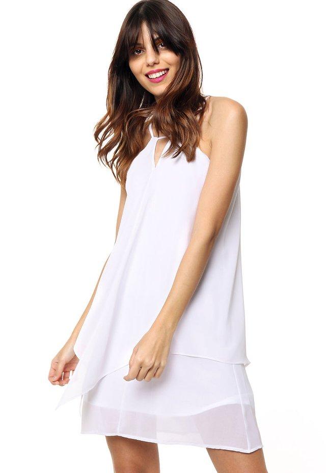7289642f10 Vestido blanco sylvia en internet  Vestido blanco sylvia ...
