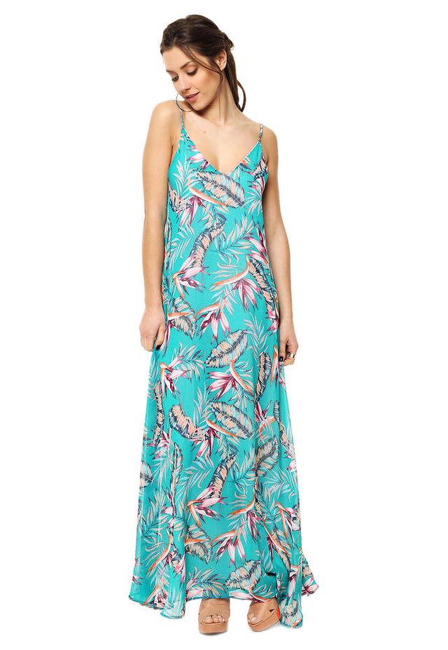 7f5ca0e303 ... Vestido Turquesa Paraiso - comprar online ...