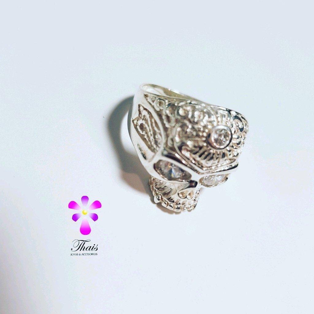 Anillo calavera de plata 925
