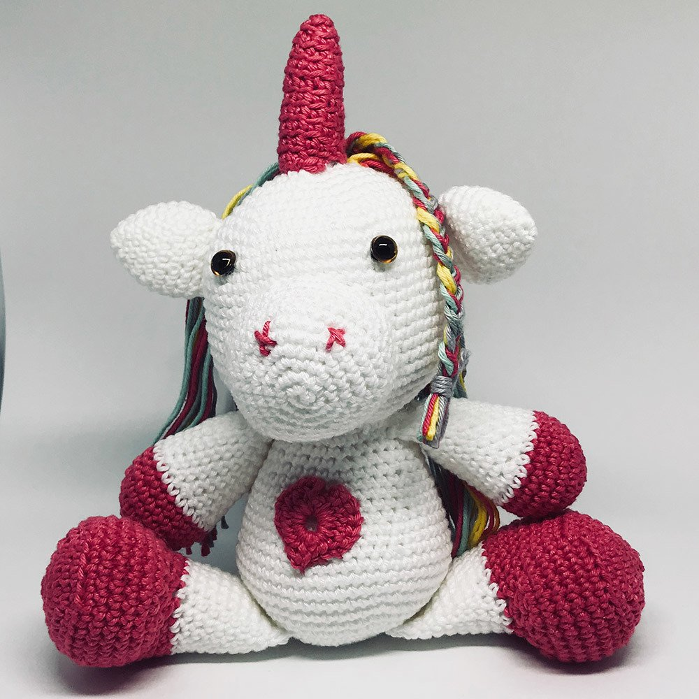 Kit Circulo Amigurumi 8 Unicornio - O Melhor Armarinho em Lãs ... | 1000x1000