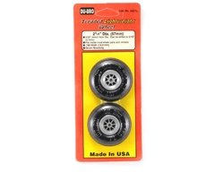 "Roda de borracha Treaded light weight Du-Bro 2-1/4"" (57 mm)  dub225tl - comprar online"
