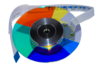 Color Wheel Disco de cores NEC Ve281 Ve282 Ve282b Ve282x Np43 Np110 Np115 Np210 Np215 Np216 (102406082) - ORIGINAL